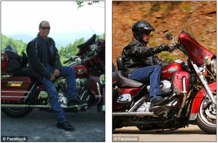 Ed Coen, who also loved to motorcycle, was found deceased and floating a few hours later. Henderson said his big hearted best friend was also thin, and Coen was shivering and weak from hypothermia in the water.